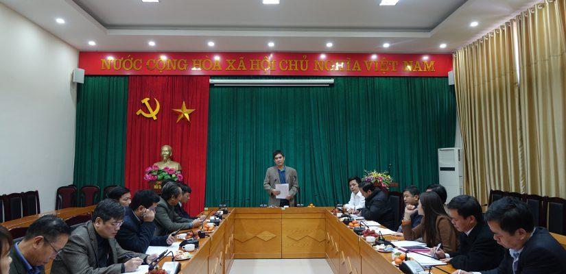 Viện phát triển kinh tế hợp tác tổ chức gặp mặt Liên minh các tỉnh  về quá trình triển khai thực hiện chuỗi giá trị năm 2018