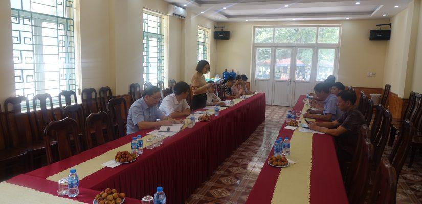 Khảo sát xây dựng mô hình Hợp tác xã sản xuất, kinh doanh gắn với chuỗi giá trị tại Bắc Giang