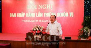Chủ tịch Nguyễn Ngọc Bảo chủ trì hội nghị BCH lần thứ 6, khóa V