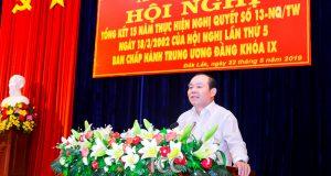 Chủ tịch Nguyễn Ngọc Bảo dự Tổng kết 15 năm thực hiện NQ 13 về KTTT tại Đăk Lăk