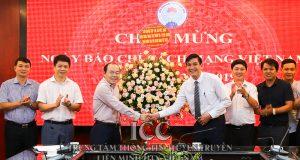 Chủ tịch Nguyễn Ngọc Bảo gặp mặt chúc mừng Ngày báo chí cách mạng Việt Nam