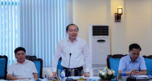 Chủ tịch Nguyễn Ngọc Bảo làm việc với Bộ, ngành TW về tình hình phát triển KTTT, HTX 6 tháng đầu năm 2018