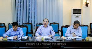Chủ tịch Nguyễn Ngọc Bảo làm việc với Hội Liên hiệp Phụ nữ VN về việc khảo sát tình hình KTTT, HTX tại các địa phương