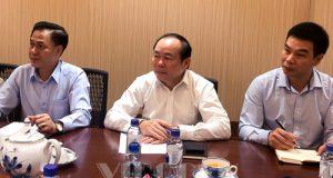 Chủ tịch Nguyễn Ngọc Bảo làm việc với Saigon co.op về hỗ trợ phát triển HTX