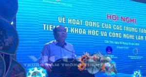 Chủ tịch Nguyễn Ngọc Bảo tham dự hội nghị về ứng dụng KH&CN