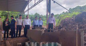 Chủ tịch Nguyễn Ngọc Bảo thăm và làm việc HTX tại Yên Bái