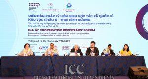 Diễn đàn Pháp lý Liên minh HTX Quốc tế khu vực châu Á – Thái Bình Dương thành công tốt đẹp