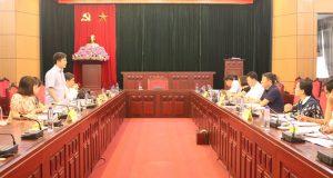 Đoàn công tác của Liên minh Hợp tác xã Việt Nam làm việc với UBND tỉnh Sơn La