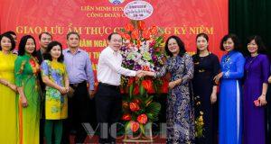 Giao lưu ẩm thực chào mừng ngày Phụ nữ Việt Nam 20/10