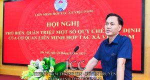 Hội nghị Quán triệt, hướng dẫn thực hiện một số quy chế, quy định của cơ quan Liên minh HTX Việt Nam