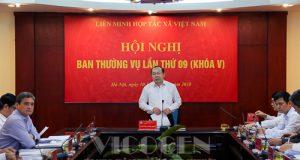 Hội nghị Thường vụ Liên minh HTX Việt Nam lần thứ 9 khóa V
