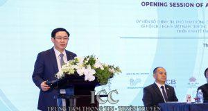 Phó Thủ tướng Vương Đình Huệ dự và phát biểu khai mạc Diễn đàn Pháp lý Liên minh HTX Quốc tế khu vực châu Á Thái Bình Dương