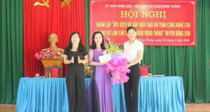 Thanh Hóa: Ra mắt HTX Dịch vụ rau an toàn công nghệ cao do phụ nữ làm chủ