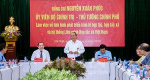 Thông báo số 276/ TB-VPCP: Kết luận của Thủ tướng Chính phủ Nguyễn Xuân Phúc tại cuộc họp với VCA