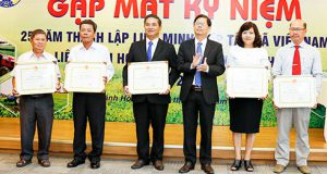 Tổng kết cụm thi đua Liên minh HTX các tỉnh duyên hải miền Trung và kỷ niệm 25 năm thành lập VCA