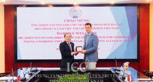 VCA tiếp và làm việc với Chủ tịch Liên đoàn HTX Hà Lan