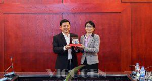 VCA tiếp và làm việc với đoàn công tác Bộ lao động và bảo trợ Mông Cổ